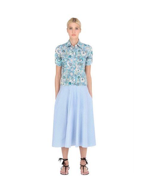 ACIEL | Женское Женщины Printed Cotton Poplin Dress