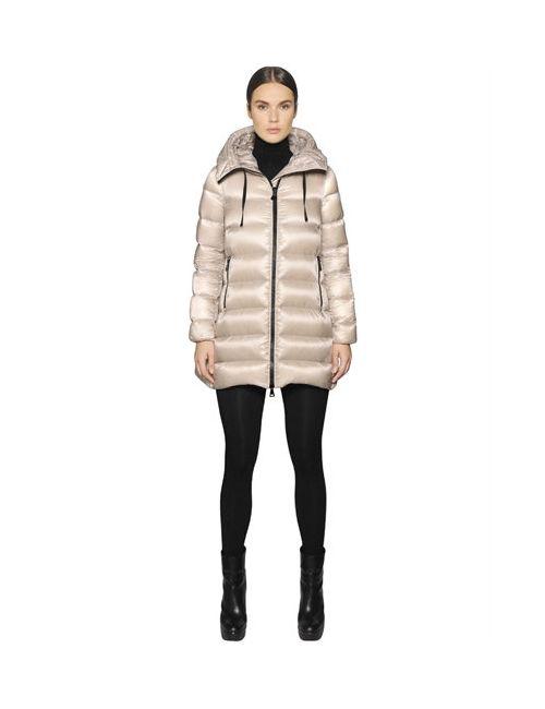 Moncler   Женская Куртка Suyen Из Нейлона Leger Brillant