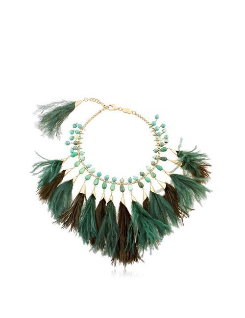 Rosantica | Золотой Faggio Feathered Necklace