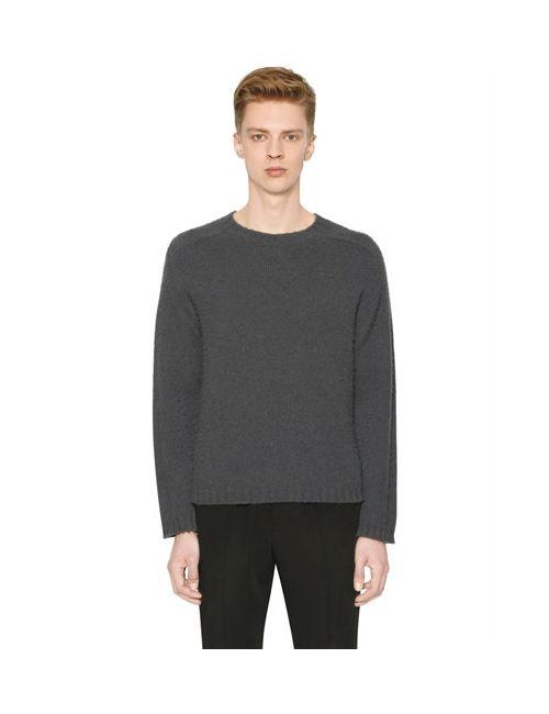 Marni | Серый Brushed Alpaca Wool Sweater