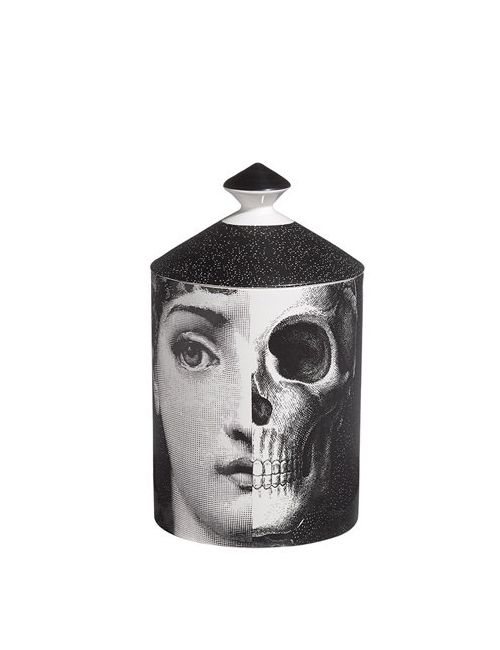 FORNASETTI | Чёрный R.I.P Otto Scented Candle With Lid