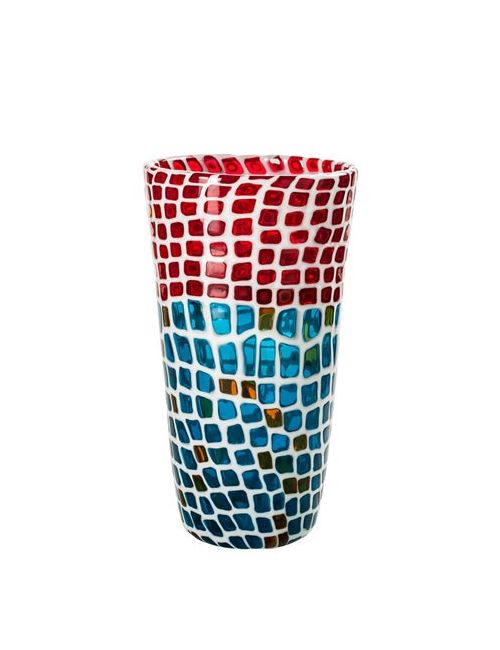 VENINI   Многоцветный Ravenna Mosaic Glass Vase