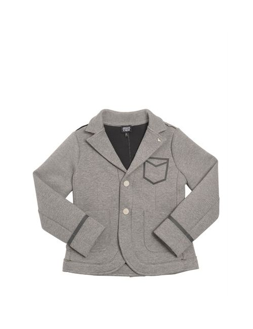 Armani Junior | Серый Cotton Jersey Neoprene Jacket