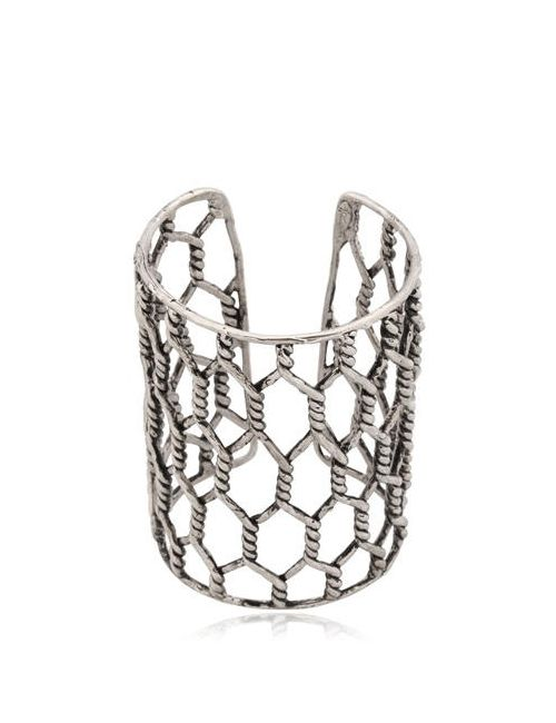 Giuseppe Zanotti Design | Чёрный Rebel Angel Cuff Bracelet