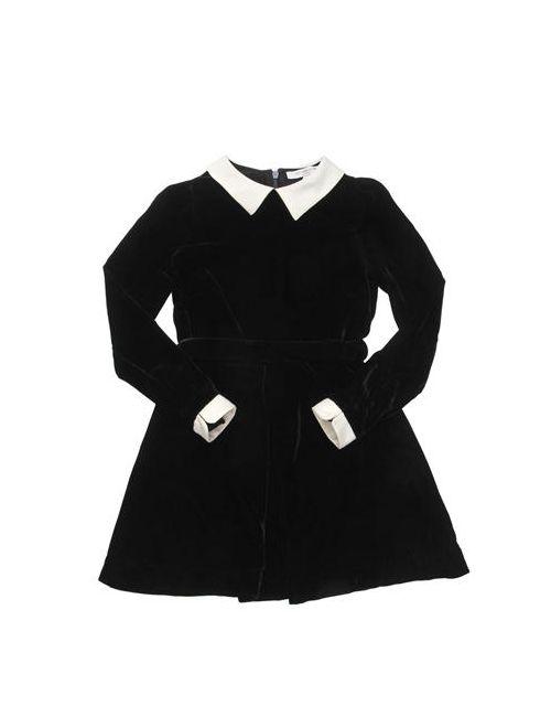 CARAMEL BABY AND CHILD | Черный Velvet Viscose Dress