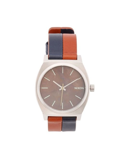 Nixon | Коричневый The Time Teller 38 Leather Watch