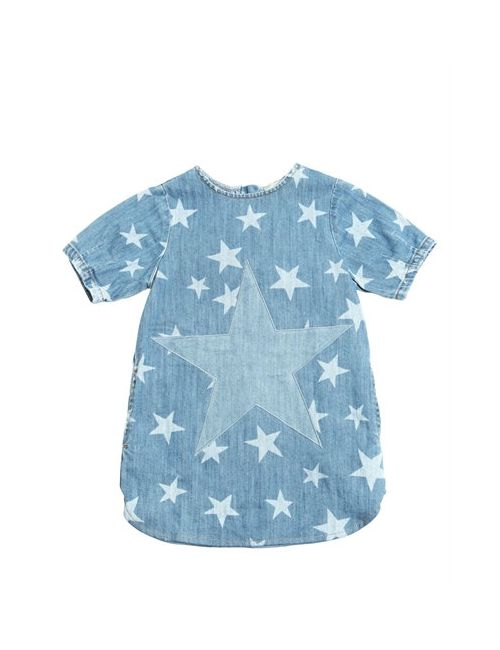 Stella Mccartney | Denim Stars Printed Stretch Dress