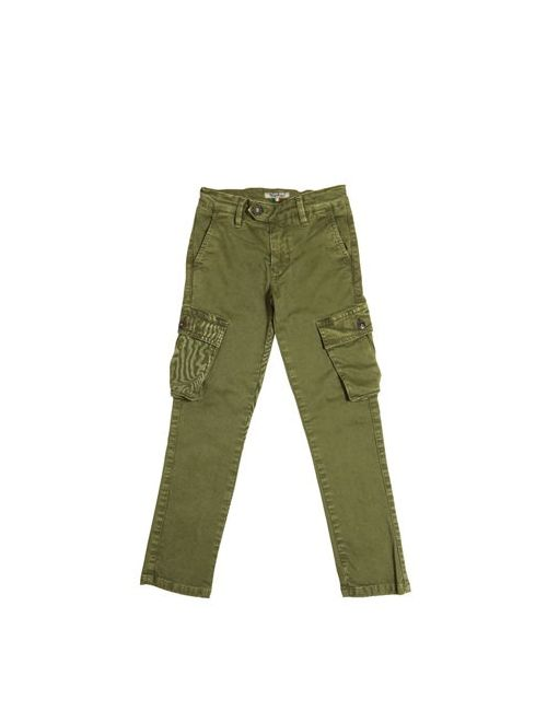 NUPKEET | Зелёный Stretch Cotton Gabardine Cargo Pants