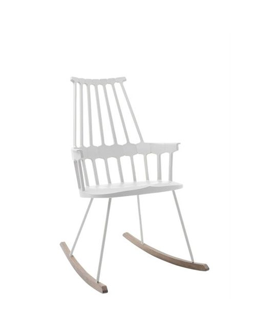 Kartell | Белый Comeback Rocking Chair