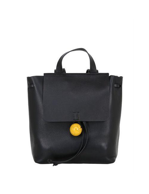 Corto Moltedo | Чёрный Small Rose Leather Backpack