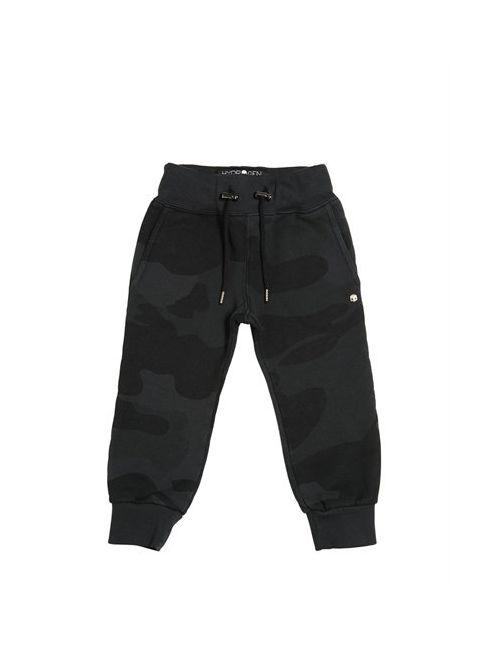 HYDROGEN KID | Серый Camouflage Cotton Jogging Pants