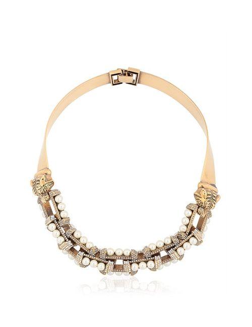 MARMÈN | Золотой Swarovski Crystals Embellished Choker
