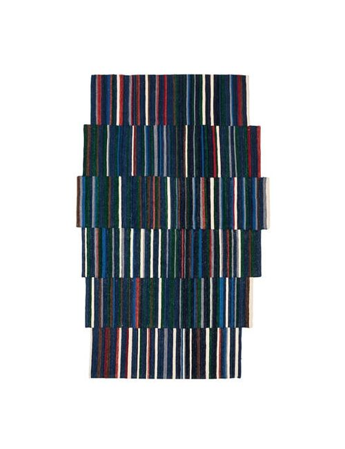NANIMARQUINA | Синий Lattice 2 Wool Rug