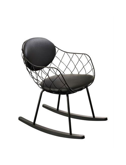 MAGIS | Чёрный Piña Rocking Chair