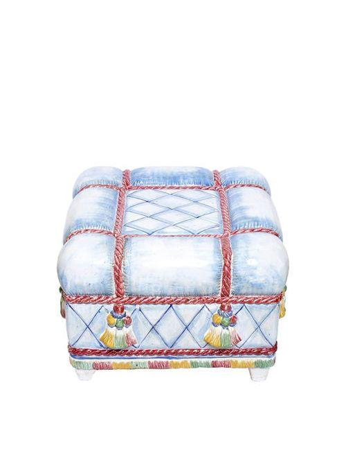 CERAMICHE PUGI | Многоцветный 1001 Nights Cushions Ceramic Ottoman
