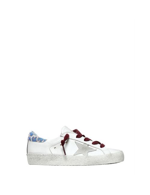 Golden Goose | Белый Super Star Leather Sneakers