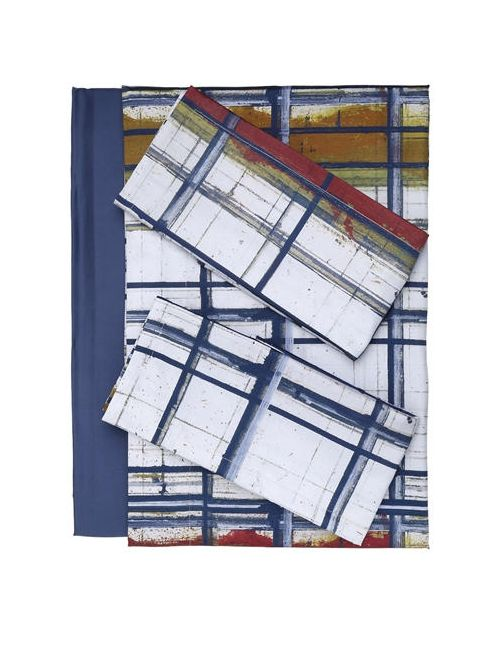 Trussardi | Многоцветный Paint Collection Cotton Sheet Set