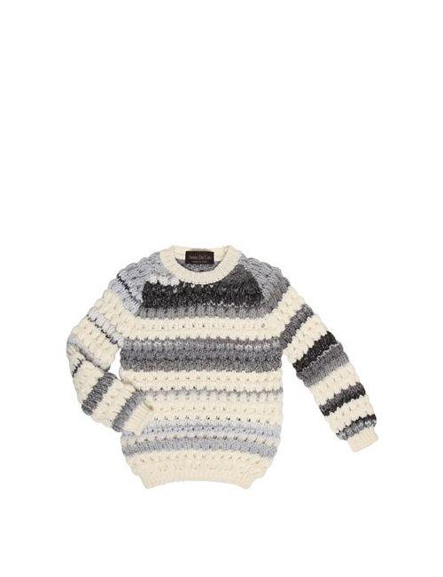 Fabrizio Del Carlo | Белый Tricot Virgin Wool Sweater