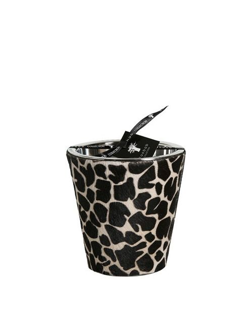 BAOBAB COLLECTION | Черный Giraffe Printed Ponyskin Max 16 Candle