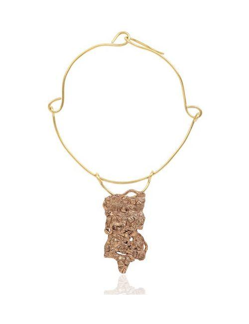 MAGGIE MAGGI | Bronze Kaos Handmade Pendant
