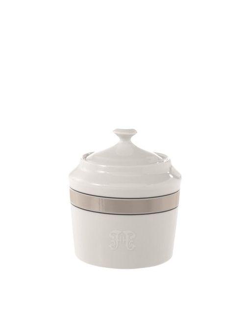 GIANFRANCO FERRÉ HOME | Белый Galles Porcelain Sugar Pot