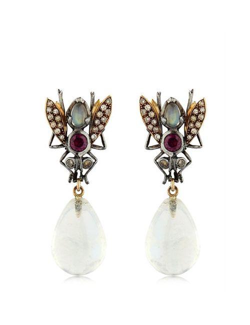 SYLVIE CORBELIN PARIS | Золотой Fly Earrings
