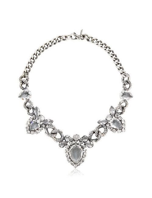 EMANUELE BICOCCHI | Серебристый Swarovski Crystal Necklace