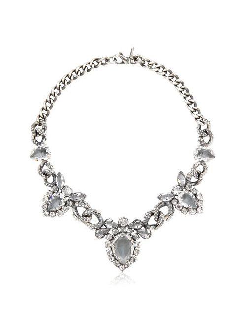 EMANUELE BICOCCHI | Серебристый Swarovski Crystal Necklace