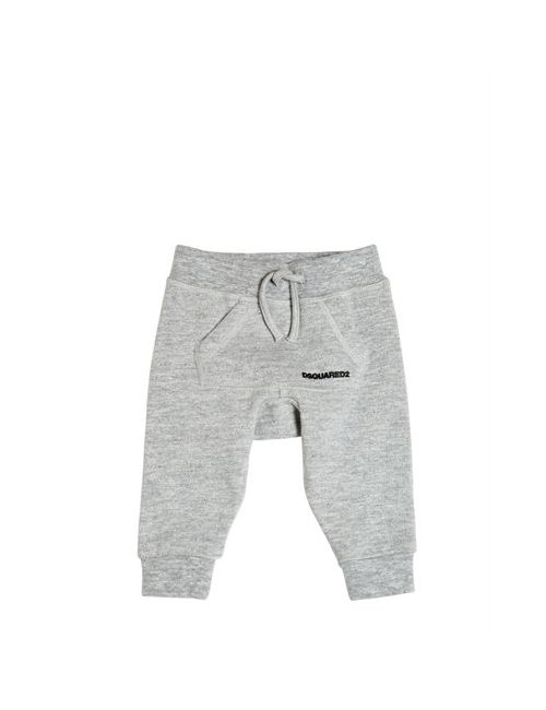 Dsquared2 | Серый Logo Printed Cotton Jogging Pants