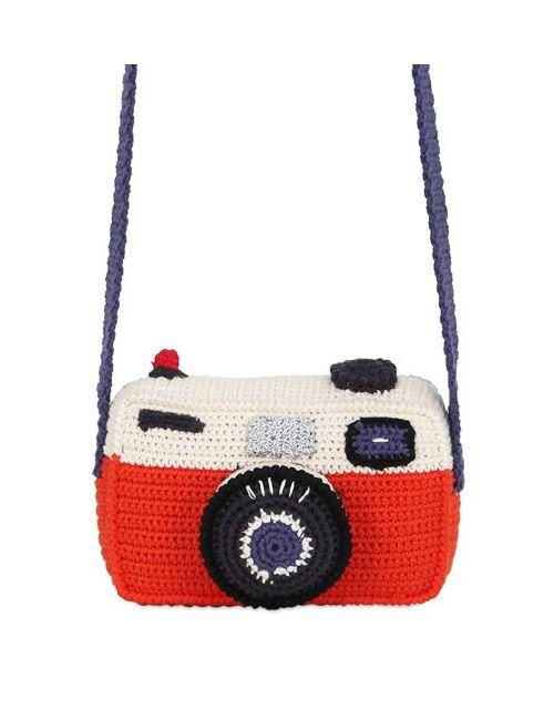 ANNE-CLAIRE PETIT | Многоцветный Hand-Crochet Camera