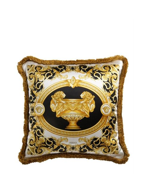 Versace | Золотой La Vase Baroque Silk Accent Pillow