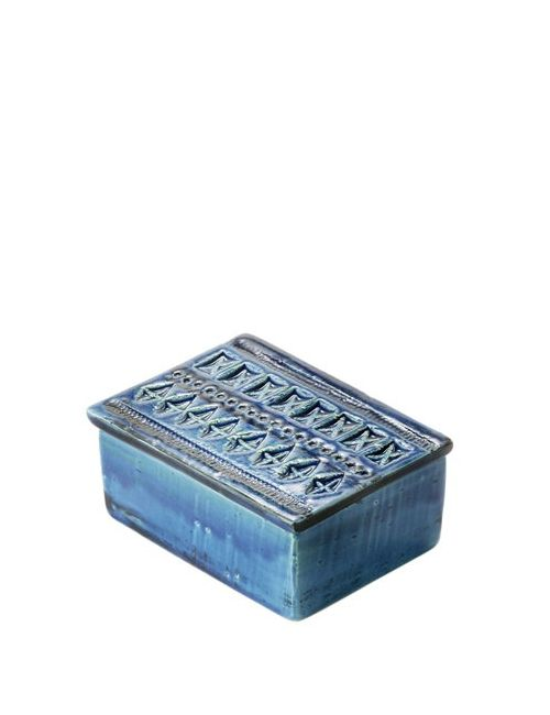 BITOSSI CERAMICHE | Синий Rimini Blu Ceramic Box With Lid