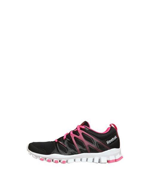 Reebok | Чёрный Realflex Train Mesh Running Sneakers