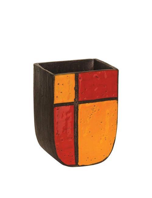 BITOSSI CERAMICHE | Многоцветный Mondrian Ceramic Vase