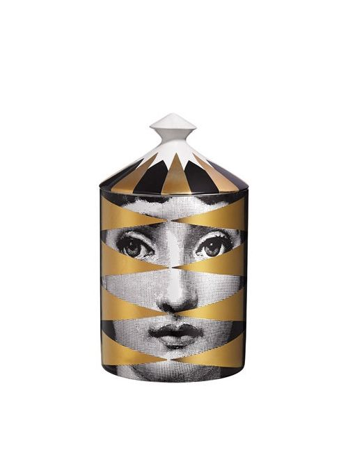 FORNASETTI | Золотой Losanghe Otto Scented Candle With Lid