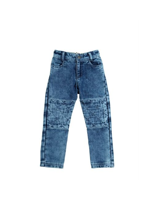 Little Marc Jacobs | Denim Bleached Effect Cotton Pants