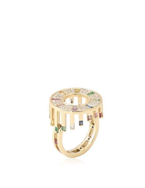 RUIFIER | Золотой Celestial Aurora Ring
