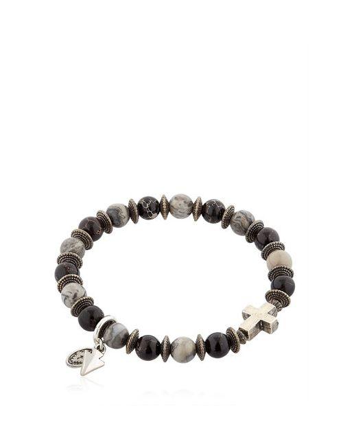 BOOTLEGGERS | Чёрный Black Imperial Imperial Gray Bracelet