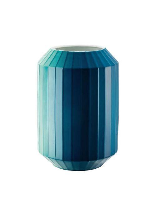 ROSENTHAL | Синий Hot Spots Tall Porcelain Vase