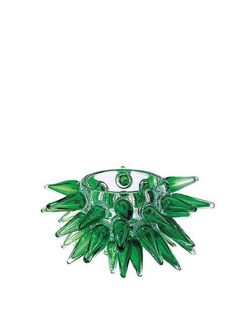 DRIADE | Зелёный Pino Hand Blown Glass Vase