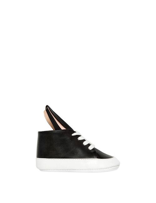 MINNA PARIKKA | Чёрный Bunny Nappa Leather Sneakers