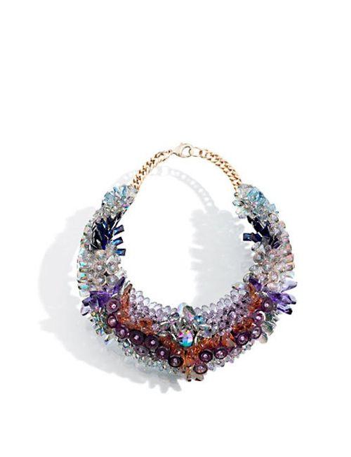 KEN SAMUDIO | Многоцветный Swarovski Crystals Plastic Necklace