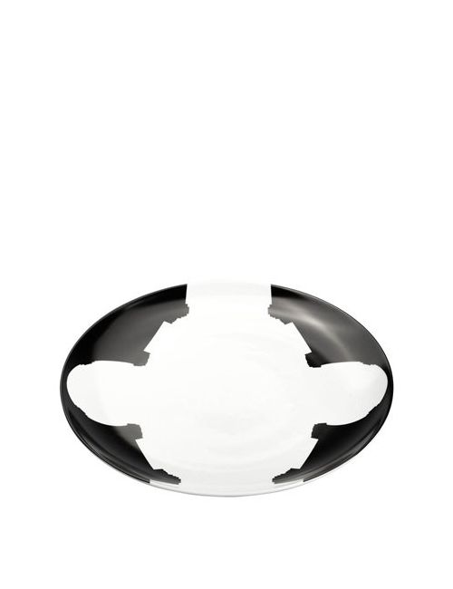 SALVATORE SPATARO | Чёрный Madonna Del Carmine Porcelain Plate
