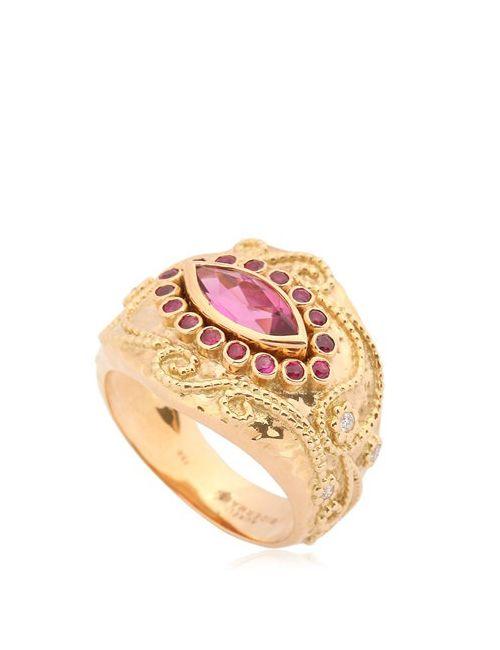 Aurelie Bidermann | Золотой Cashmere Collection Ring