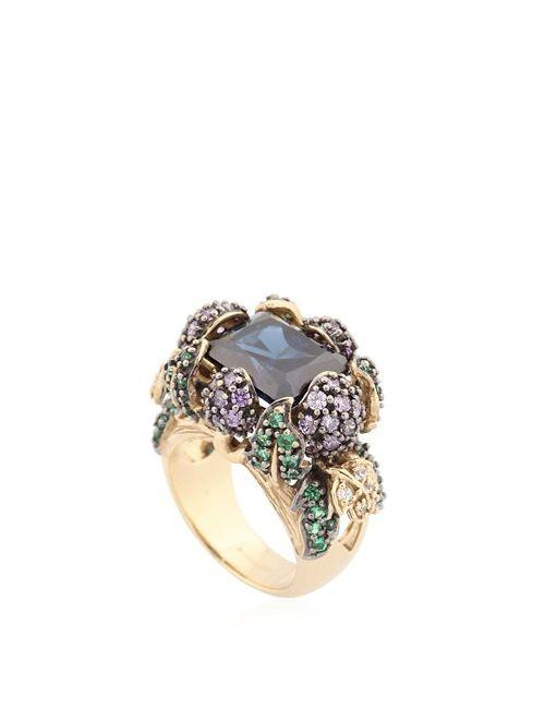 Anabela Chan | Синий Berry Gold Ring