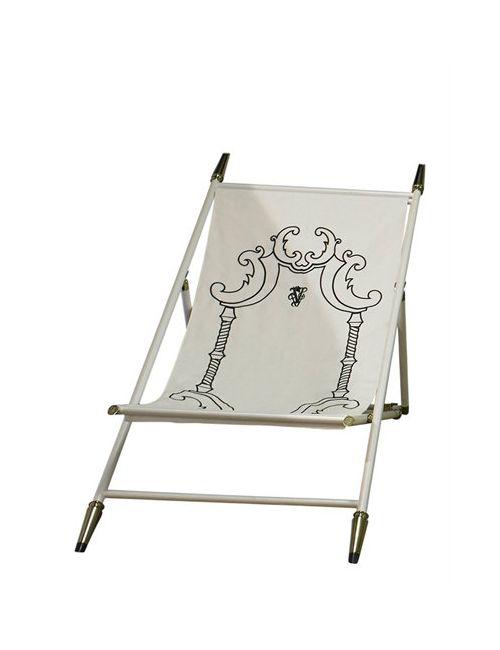 VISIONNAIRE   Чёрный Aydon Beach Chair