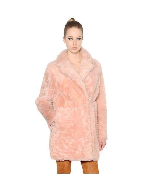 Drome | Розовый Reversible Shearling Coat