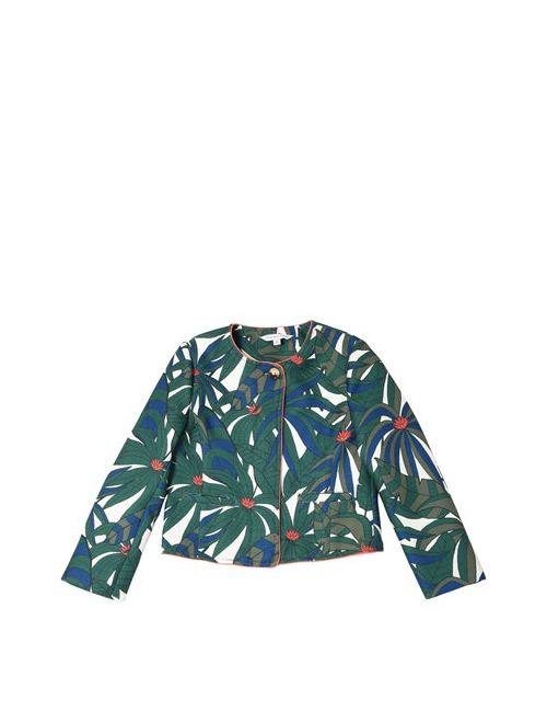 Little Marc Jacobs | Зелёный Jungle Printed Canvas Jacket