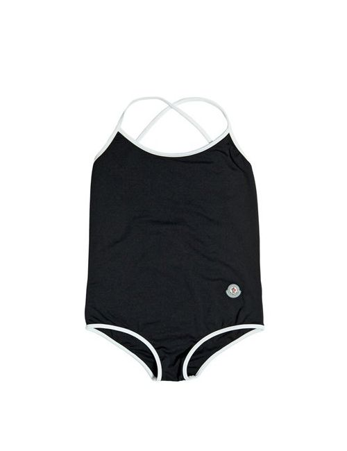 Moncler | Чёрный Two Tone Lycra One Piece Swimsuit