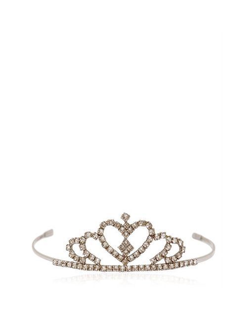 Saint Laurent | Crystal Heart Tiara